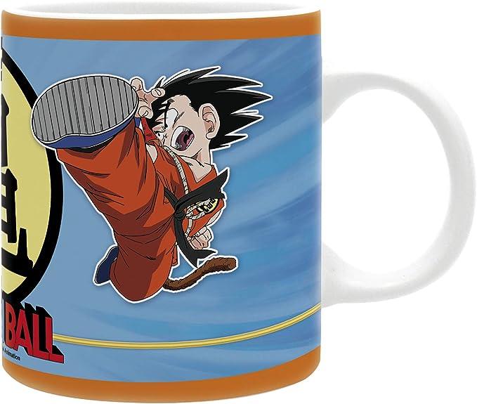 ABYstyle - DRAGON BALL - Taza - 320 ml - Goku y Krilin: Amazon.es ...