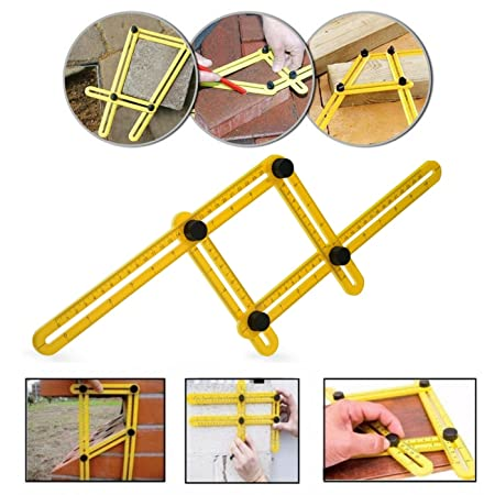 angle izer template tool multi angle ruler template measures all rh amazon co uk home buyers home buyers guide