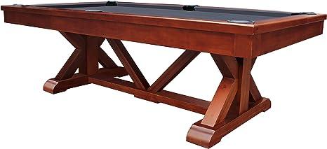 PLAYCRAFT brazos Río 8 pizarra mesa de billar, marrón: Amazon.es ...