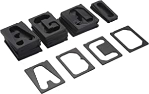 "Milescraft 2202 1-1/2"" Horizontal Character Template Set FOR Sign making System"