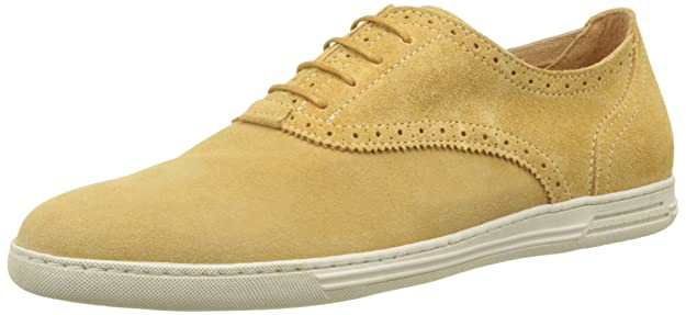 James Sud, Zapatos de Cordones Brogue para Hombre, Beige (Earth H75), 43 EU Palladium
