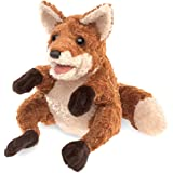 Folkmanis Crafty Fox Hand Puppet