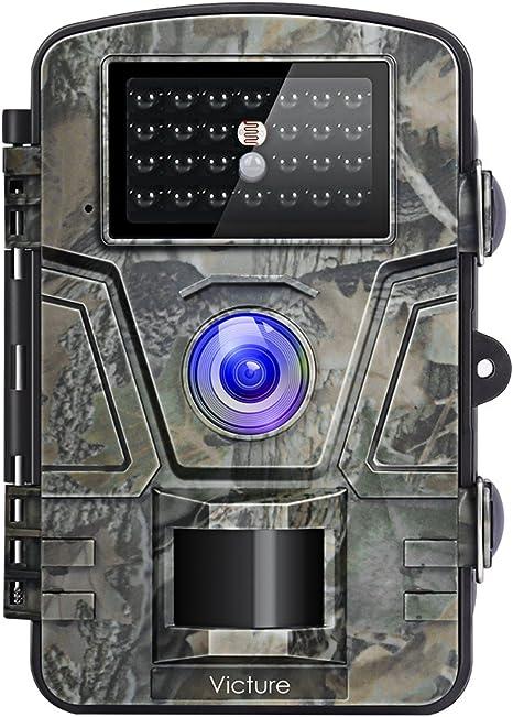Opinión sobre Victure Cámara de Caza Vigilancia 12MP 1080P IP66 Impermeable PIR Sensor de Movimiento Visión Nocturna 90 ° Angular para Fauna Seguridad Hogar Mascota Animal