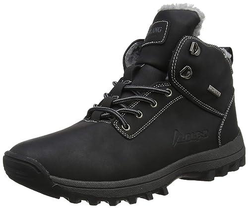 Rioneo Hombre Botas de Nieve Senderismo Impermeables Deportes Trekking Zapatos Forro Piel Sneakers Negro Marrón Khaki 39-46: Amazon.es: Zapatos y ...