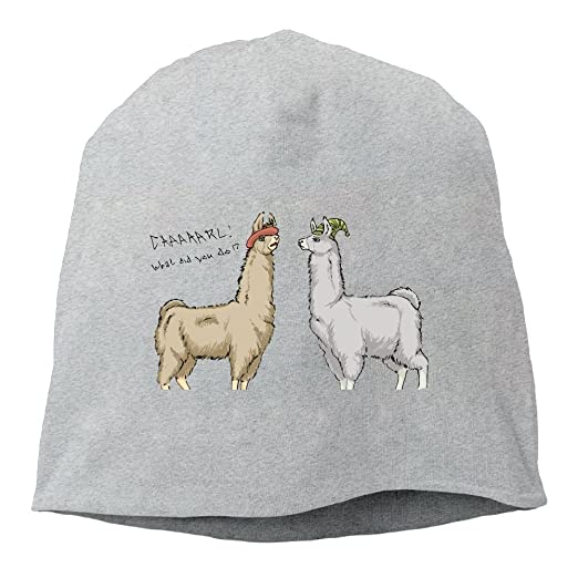 633d961eeda Cute Llamas With Hats Beanies Cap For Men Women at Amazon Men s Clothing  store