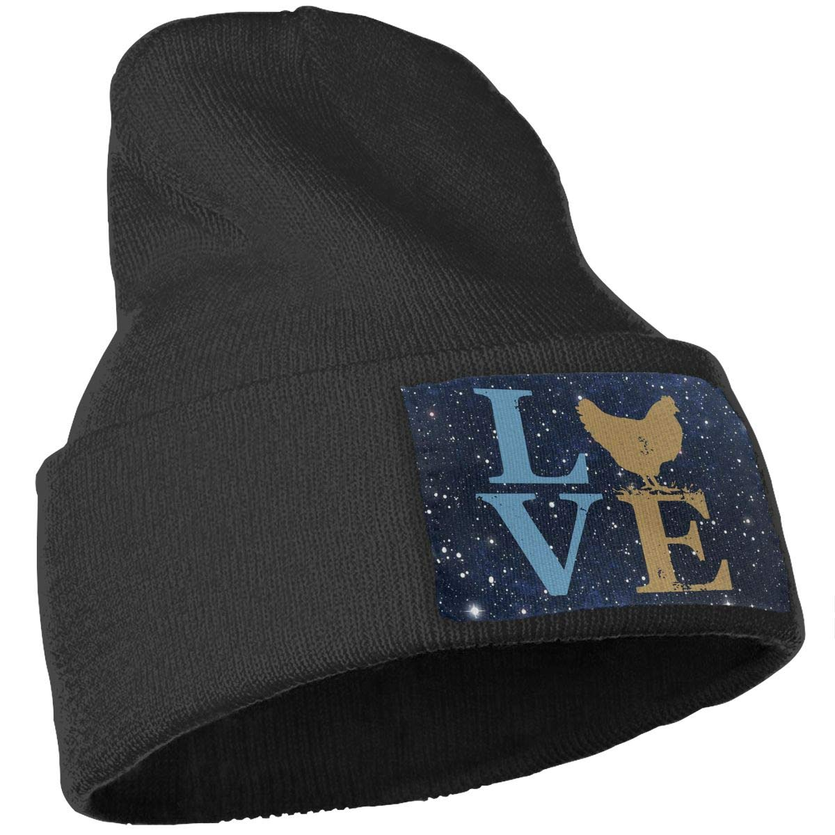 Love Chickens Soft Warm Beanie Hat Skull Cap