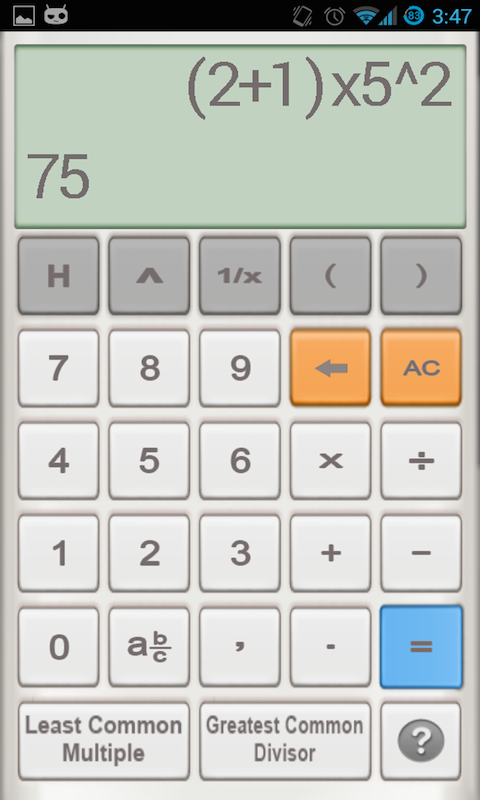 Amazon.com: Fraction calculator: Appstore for Android