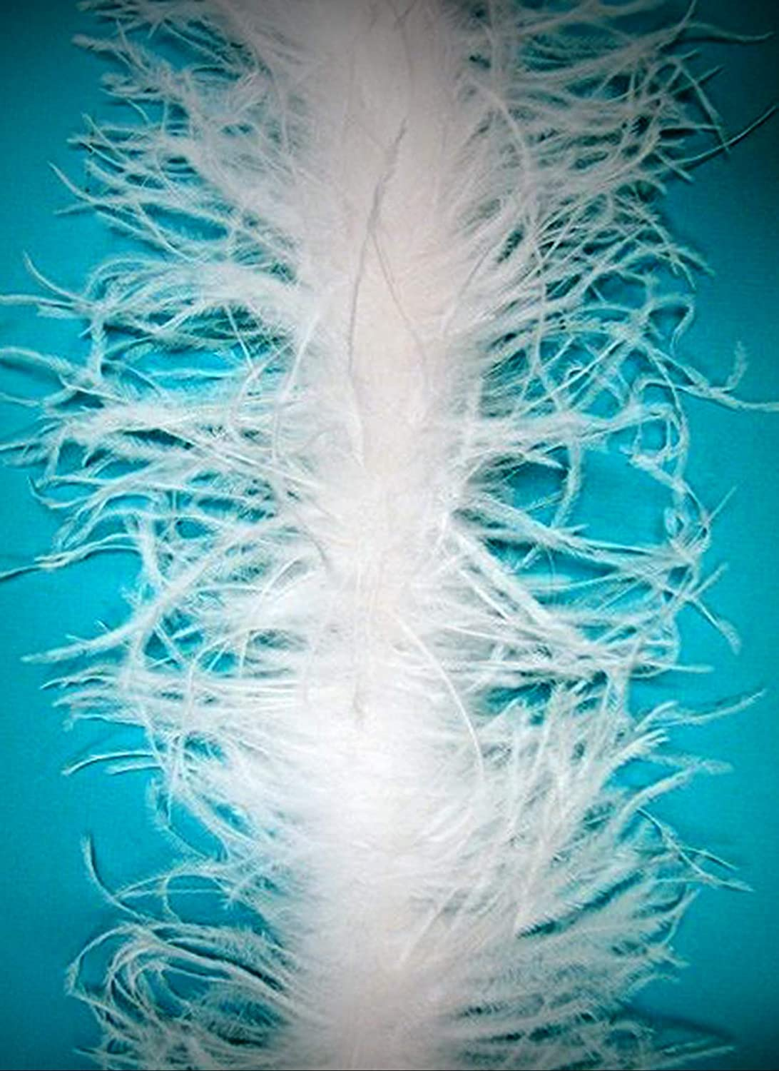 """5 OSTRICH FEATHER BOAS 2 Ply MANY COLORS 72/"""" Costumes//Hats//Craft//Bridal//Party"""
