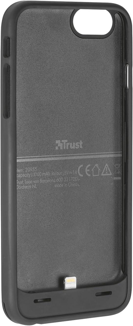 Trust Urban Batta - Funda con batería de 3100 mAh para Apple iPhone 6 y 6S: Amazon.es: Electrónica
