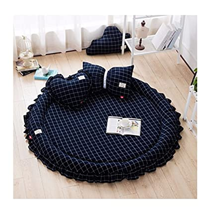 Amazon Com Round Carpet Rugs Play Mat Crawling Sleeping Mat With