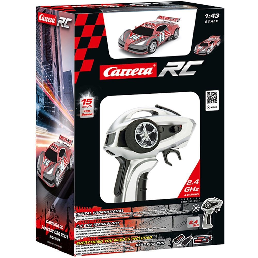 Carrera RC - Coche de Juguete Fantasy Car RC01, con radiocontrol (37043004)