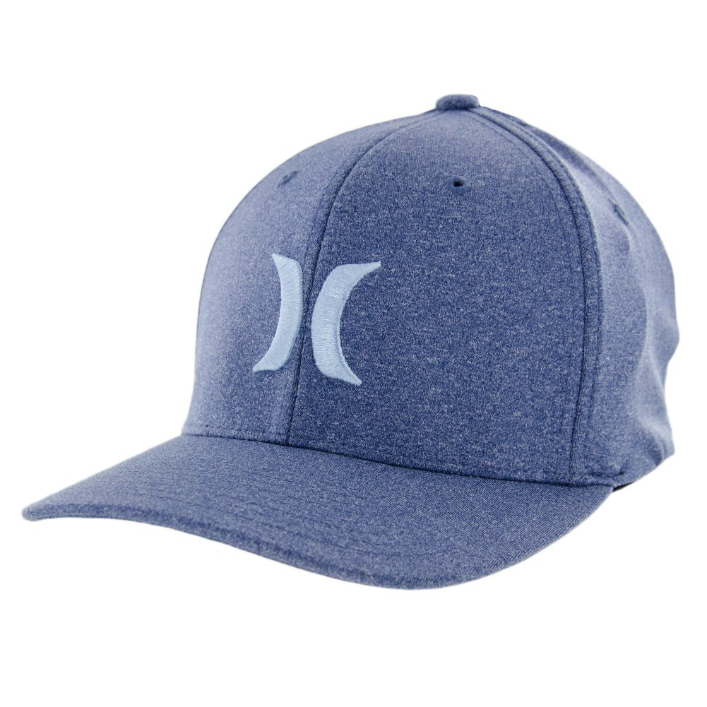 Amazon.com  Hurley One and Textures Hat - Legion Blue - S M  Clothing d0988020e6b5