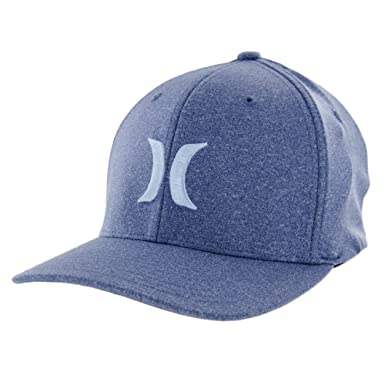 Amazon.com  Hurley One and Textures Hat - Legion Blue - S M  Clothing c31090e1ebce