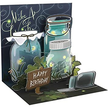 Amazon Up With Paper Pop Treasures Light Greeting Card
