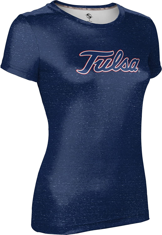 Heathered ProSphere University of Tulsa Mens Performance T-Shirt