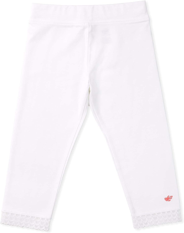 Wide Waistband Tagless Lace Trim Lucky /& Me 3-Pack Capri Length Jada Girls Capri Leggings