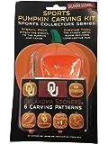 Oklahoma Sooners NCAA Topperscot Team Logo Halloween Pumpkin Carving Kit