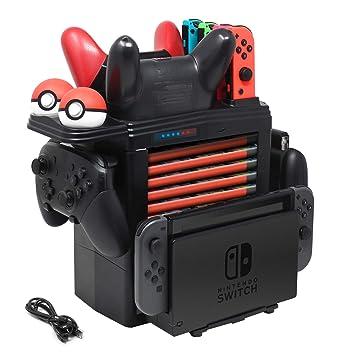 Amazon.com: FYOUNG - Base de carga para Nintendo Switch ...