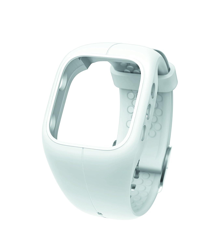 Polar A Correa de silicona color blanco