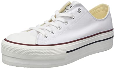 Victoria Basket Lona Plataforma Autoclave, Zapatillas para Mujer: Amazon.es: Zapatos y complementos