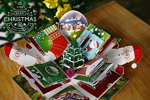 SZ&LAM Sorpresa de Navidad explotar álbum de Caja, confesión ...