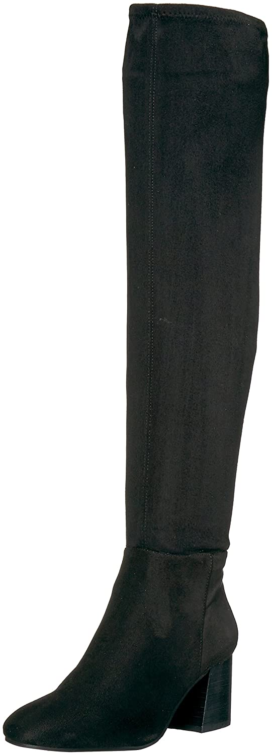 Vince Camuto Women's Kantha Over The Knee Boot B07174CZS4 8 B(M) US|Black