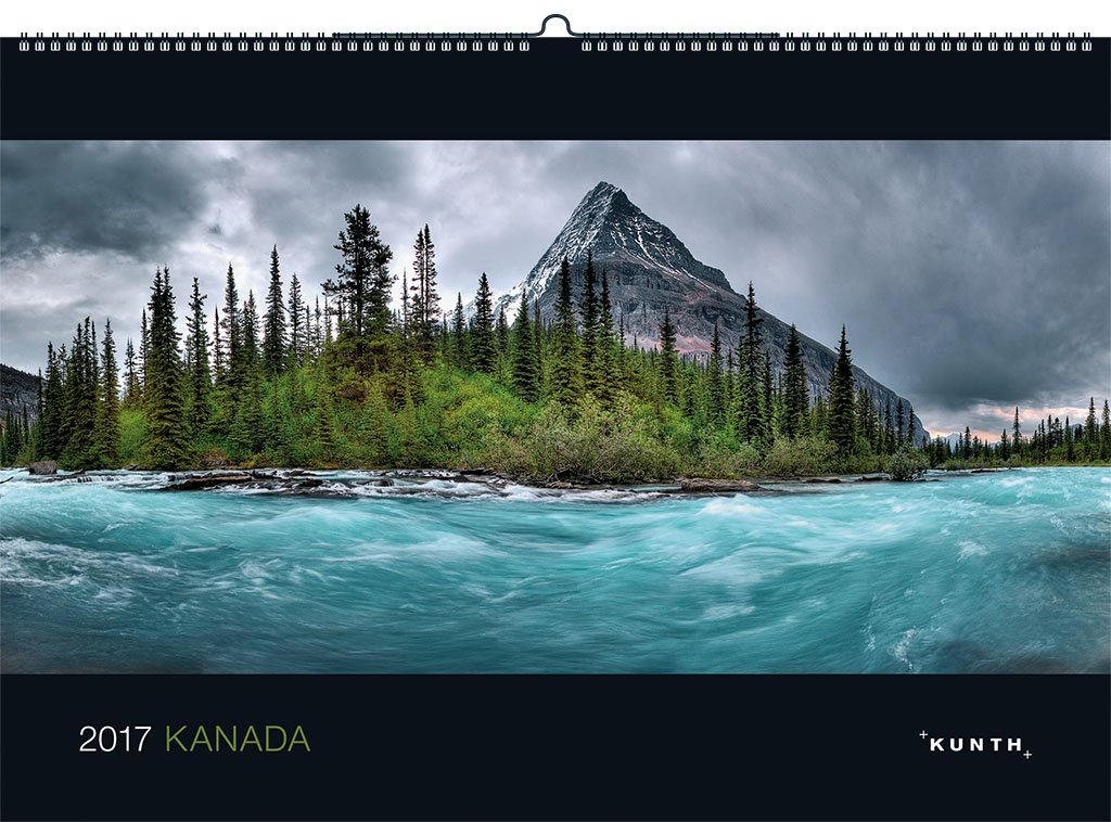 2017 Kanada: KUNTH-Kalender (KUNTH Wandkalender Black Edition)