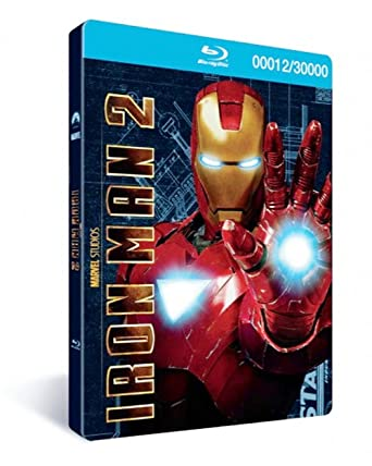 Iron Man 2: 3-Disc Combo Pack Limited Edition with Metal Packaging ...