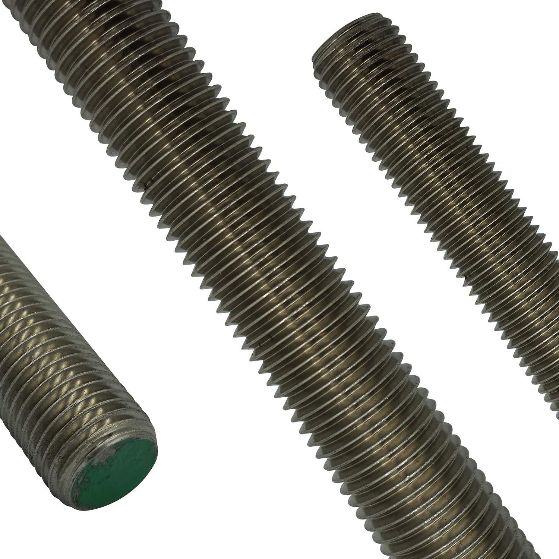 SC-Normteile M22 x 1000 mm - SC976 Gewindestange rostfreier Edelstahl A2 V2A 1 St/ück - DIN 976 // DIN 975