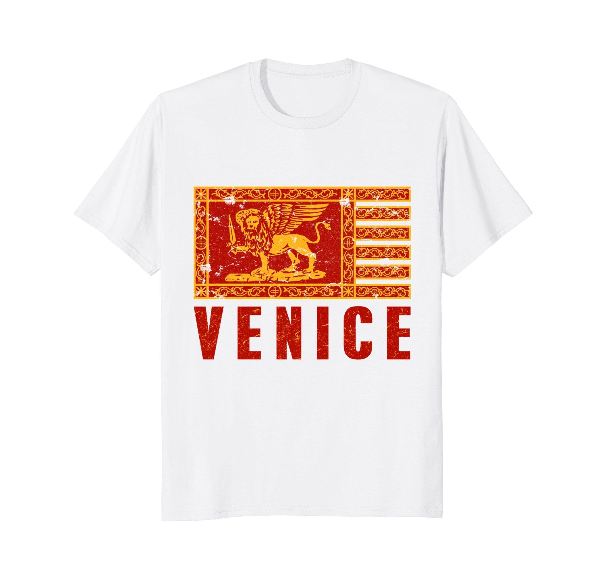 Venezia Venice Venetian War Flag Tourist Travel T-Shirt
