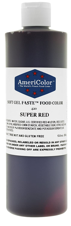 Amazon.com: Americolor Food Color Super Red 13.5 Oz: Kitchen & Dining