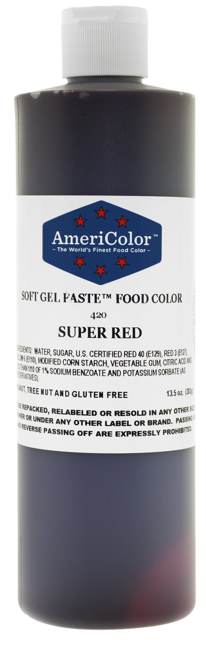 AmeriColor Food Color Super Red 13.5 Oz