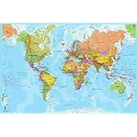 Adesivo Papel de Parede Decorativo Mundo Mapa Mundi