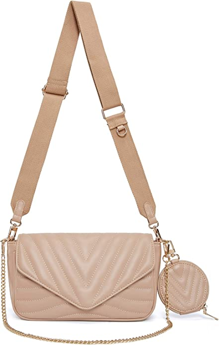 Ant Expedition Small Quilted Crossbody Bag