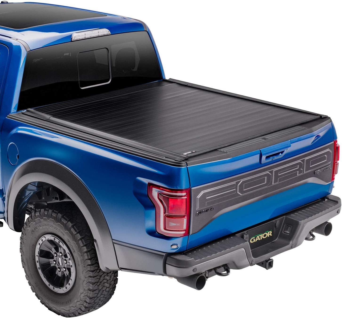 Amazon Com Gator Recoil Retractable Truck Bed Tonneau Cover G30372 Fits 2009 2014 Ford F 150 6 5 Bed Made In The Usa Automotive
