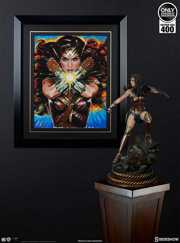 Sideshow 500546 - Wonder femme - artprint