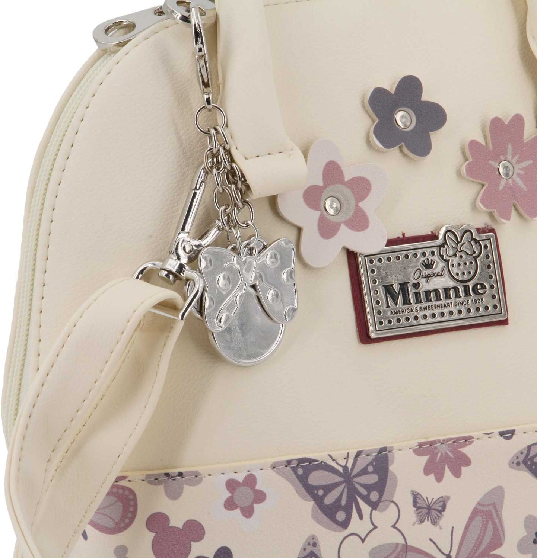 Karactermania Minnie Mouse Ivoire-Moonlight Handbag Blanc 24 cm White Small Sac bandouli/ère