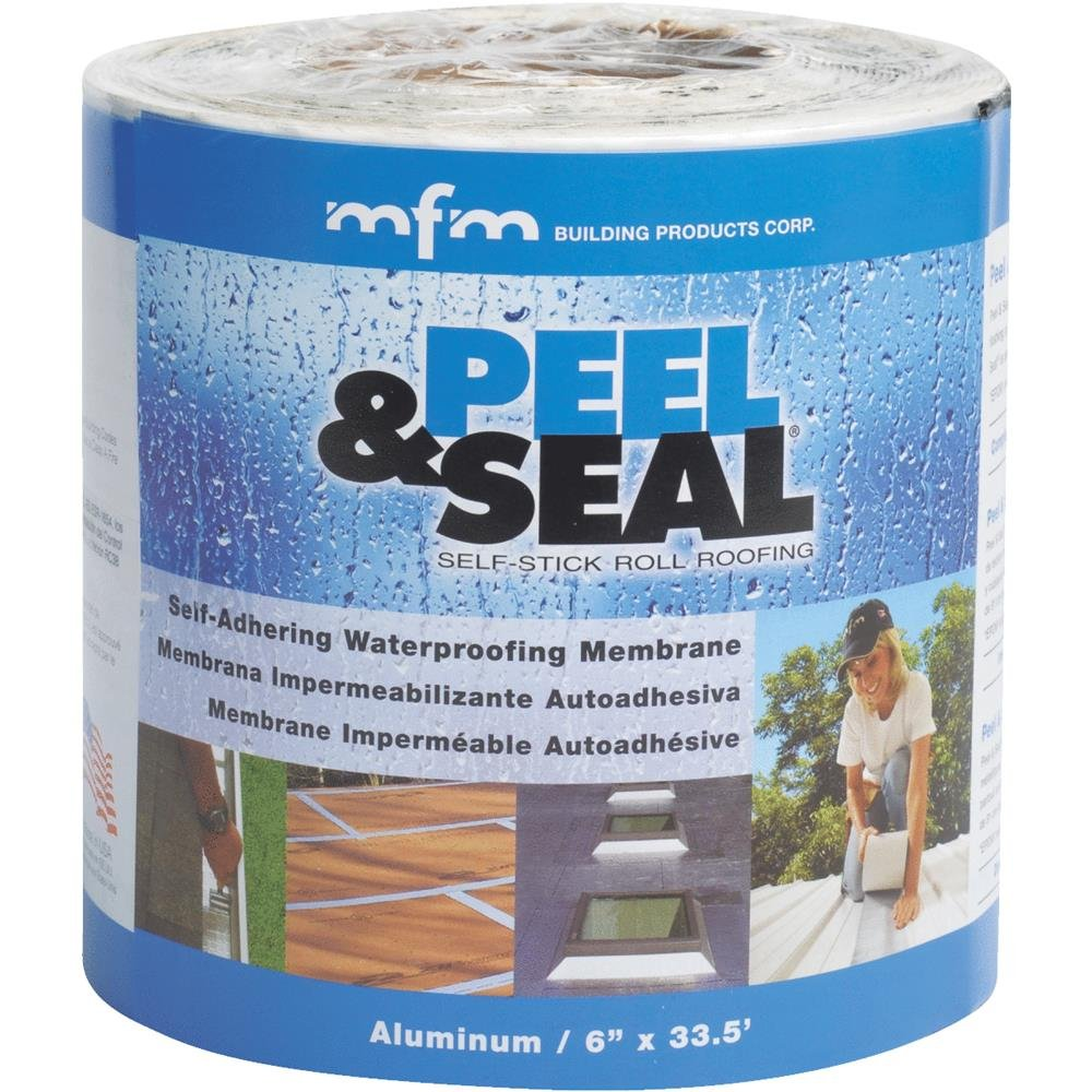 "Mfm Building Product 50042 6""X33.5' Peel & Seal"