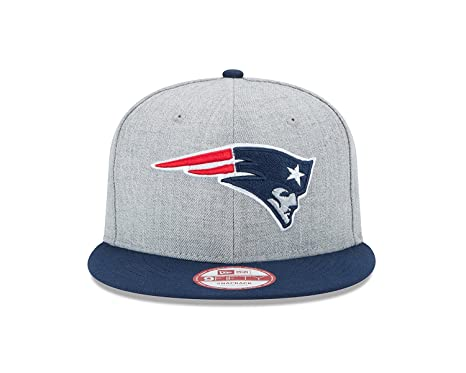 affde132 Image Unavailable. Image not available for. Color: New Era New England  Patriots 9Fifty Grand XL Logo Adjustable Snapback Hat ...