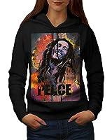 420 Pot Rasta Bob Marley Women S-2XL Hoodie | Wellcoda