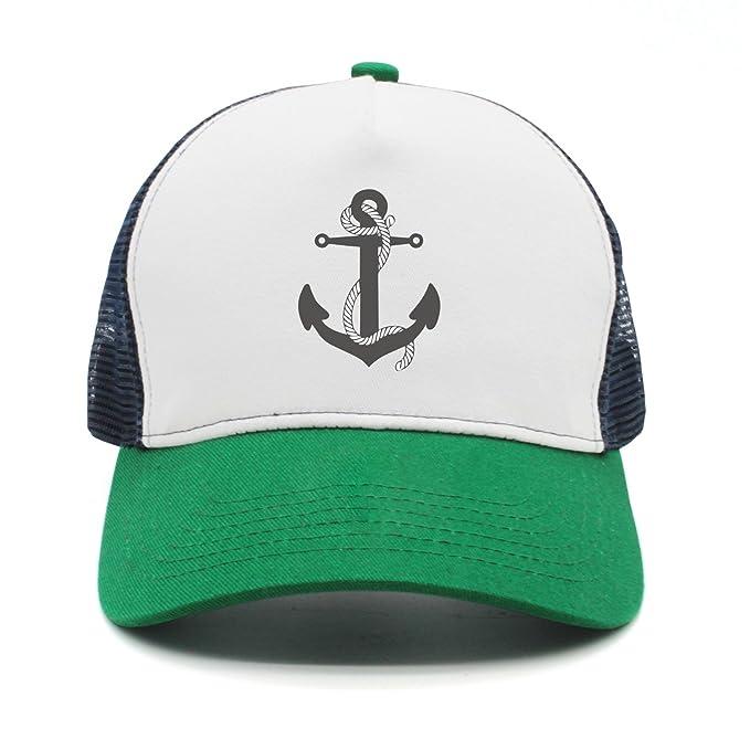 a4d14f7c1bc srygjukuu Style Anchor with Rope Visor Hats Adjustable Street Dancing Caps