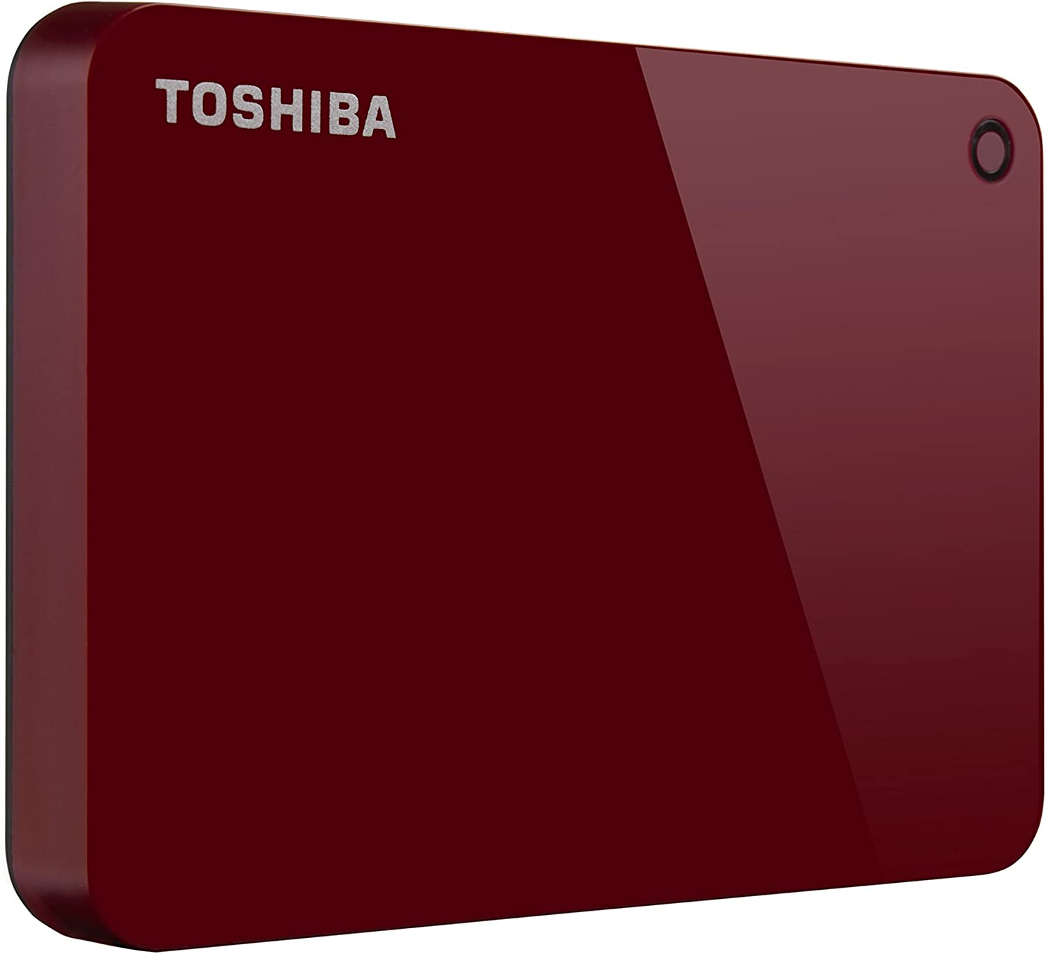 Toshiba HDtc910 x R3Aa Canvio Advance Disque Dur Externe Portable 1 to USB 3.0, Rouge
