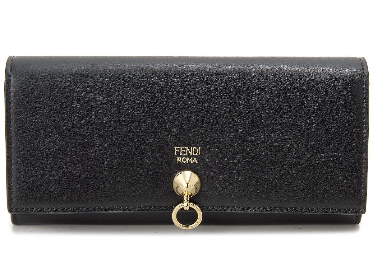 [フェンディ]FENDI 長財布 8M0251 SME F0KUR 二つ折り長財布 ブラック レディース [並行輸入品] B078JHMHG1