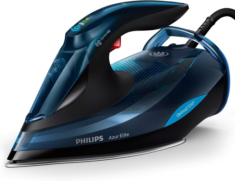 Philips Azur GC4567//80 Fer /à repasser vapeur SteamGlide Noir 2600 W