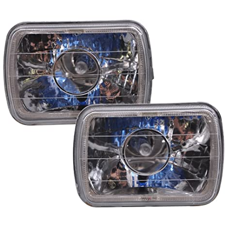 """1 6054 5/""""x7/"""" Blue Halo Replacement Euro Conversion housing"""