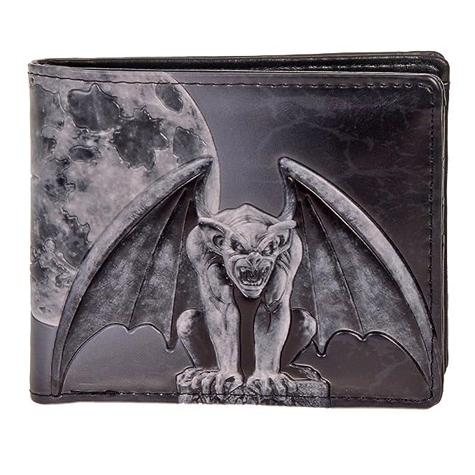 485b58f6265c Shag Wear Men's Bifold Wallet Gargoyle at Amazon Men's Clothing store: