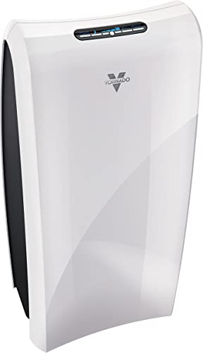 Vornado AC550 Air Purifier with True HEPA Filter, Captures Allergens, Smoke, Odors, Pollen, Dust, Mold Spores, Pet Dander