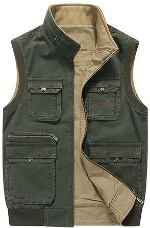 timeless design 2f0d7 a2527 JIINN Mens Military Gilet Body Warmer Action Waist Coat ...