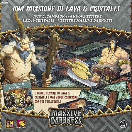 Asmodee Italia Massive Darkness Tiles 10108 - Juego de Mesa: Amazon.es: Juguetes y juegos
