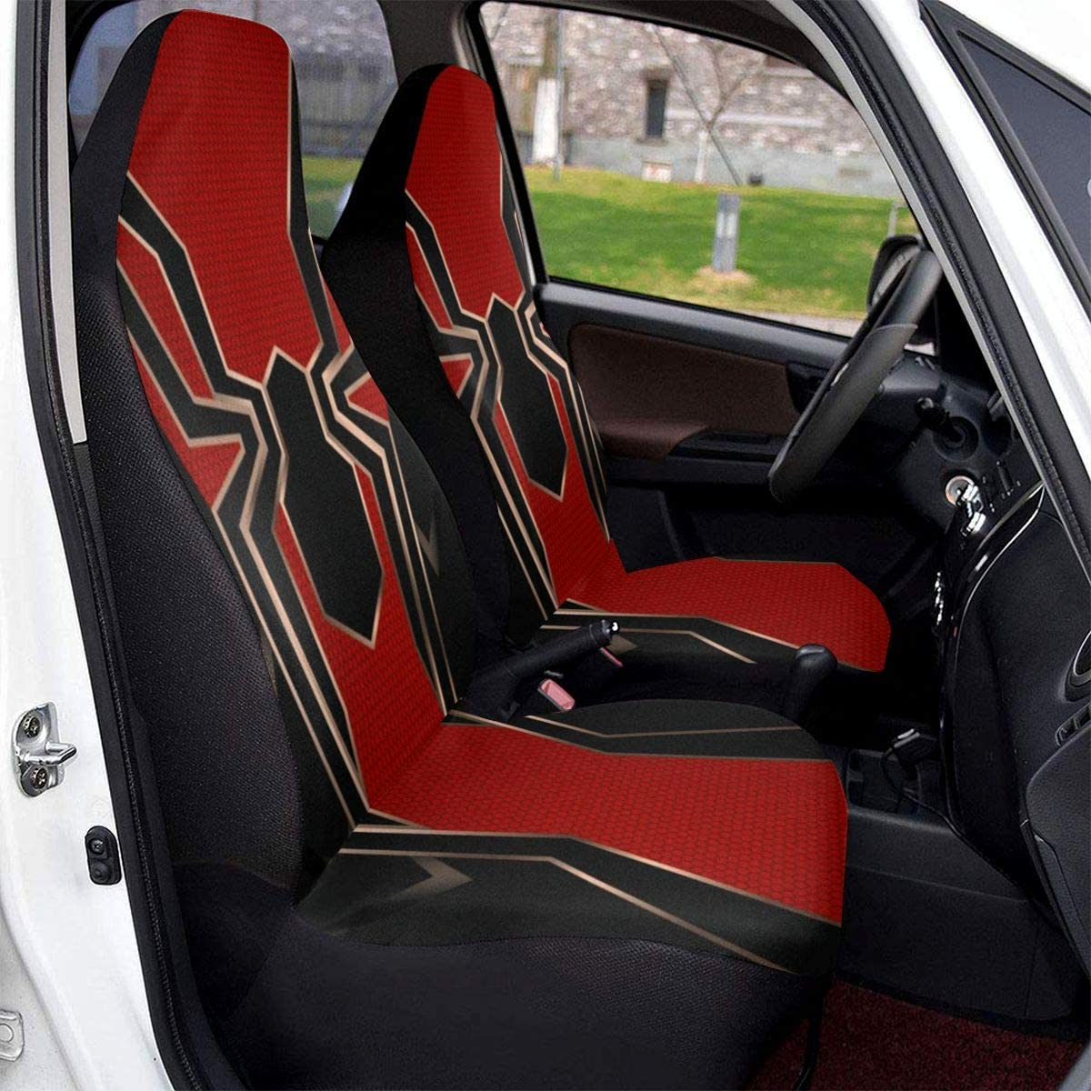PFENK Car Seat Covers Dallas Cowboys Protector Cushion Premium Cover for Women Men Girls Boys Fits Most Cars Truck SUV Van